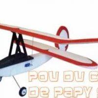 Pou du Ciel de Papy Solex vendu par GuixModel : Un mythe revisité en EPP.