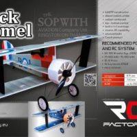 CRACK CAMEL de RC Factory : Après le Fokker DR1 un autre mythe revisité.